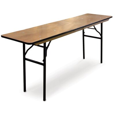 ProRent Plywood Seninar Style Folding Table