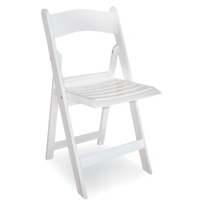 McCourt Manufacturing Wimbledon Resin Folding Chair