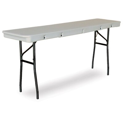 "McCourt Manufacturing Commercialite 72"" Plastic Folding Table"