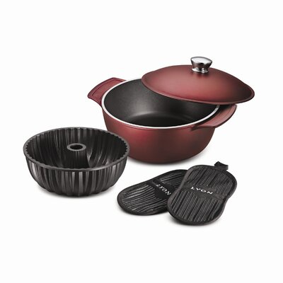 Tramontina Limited Editions LYON 5-piece Multi-Cooking System