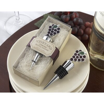 Kate Aspen ''Vineyard Select'' Bottle Stopper