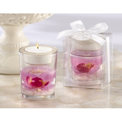 "Kate Aspen ""Elegant Orchid"" Tealight Holder"
