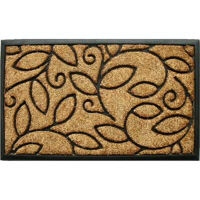 Home & More Vine Leaves Doormat