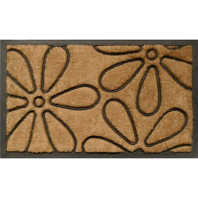 Home & More Flowers Doormat