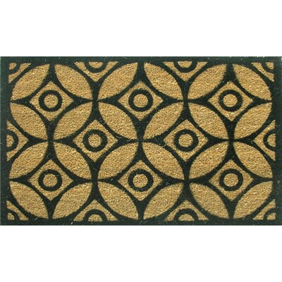 Home & More Circles and Stars Doormat