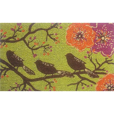 Home & More Birds in a Tree Doormat