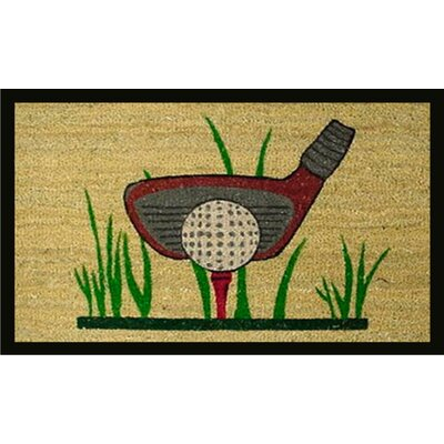 Home & More Golf Doormat