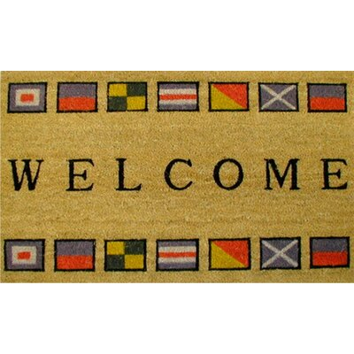 Home & More Border Flags Doormat