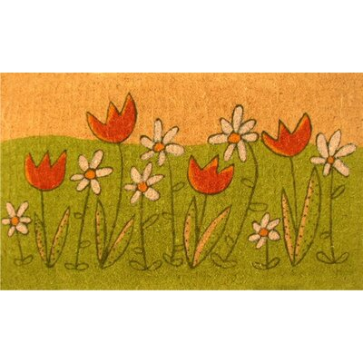 Home & More Summer Blooms Doormat