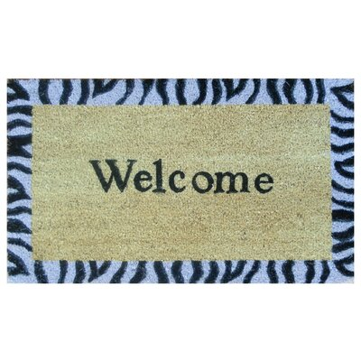 Home & More Safari Welcome Doormat