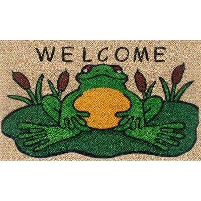 Frog Welcome Doormat