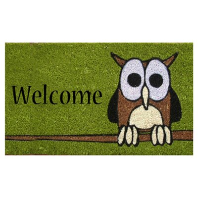 <strong>Home & More</strong> Owl Welcome Doormat