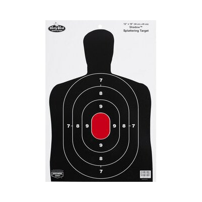 "Birchwood Casey Dirty Bird 2""x18"" BC27 Silhouette Target (8 Per Pack)"