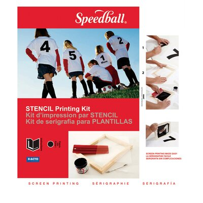 Speedball Basic Stencil Screen Printing Kit