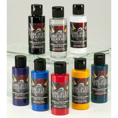 Createx Colors 2 oz Wicked Colors Standard Airbrush Paints