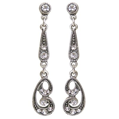 Sweet Romance Nouveau Riche Demi Crystal Earrings