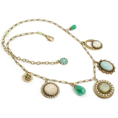 Vintage Elements Gemstone Necklace