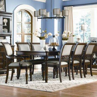 thornhill 9 piece dining set wayfair. Black Bedroom Furniture Sets. Home Design Ideas