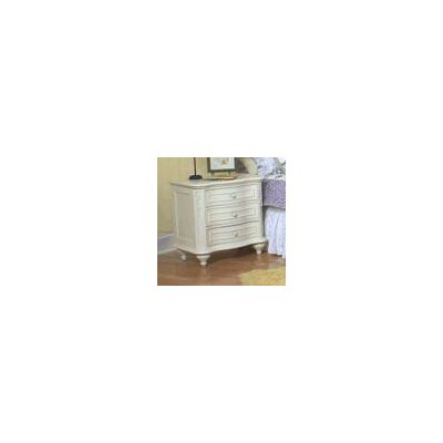 Legacy Classic Furniture Reflections 3 Drawer Nightstand