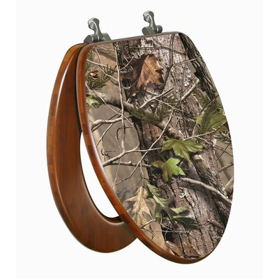 topseat realtree camouflage ap elongated toilet seat
