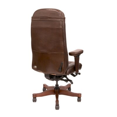 High-Back Traditional Executive Chair with Arms