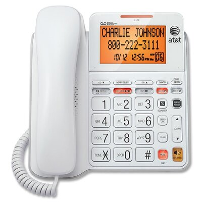 AT&T Corded Digital Answering System