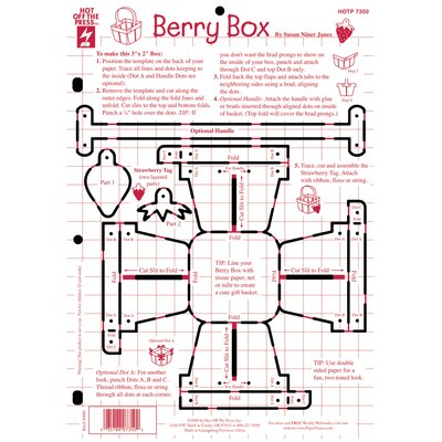 Hot Off the Press Berry Box Template