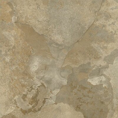 "Achim Importing Co Nexus 12"" x 12"" Vinyl Tile in Light Slate Marble"