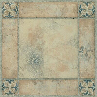 "Achim Importing Co Nexus 12"" x 12"" Vinyl Tile in Spanish Rose"