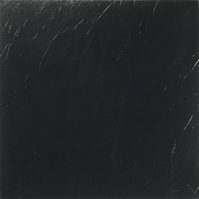 "Achim Importing Co Nexus 12"" x 12"" Vinyl Tile in Black"