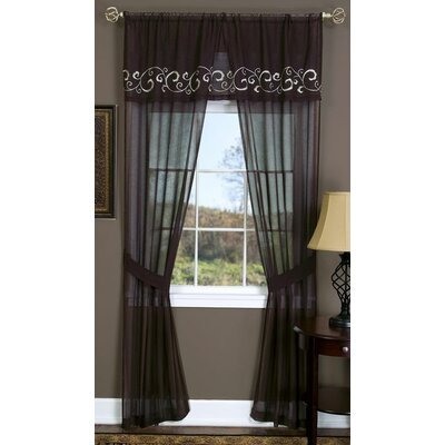 Achim Importing Co Lauren Rod Pocket Curtain Panel Pair