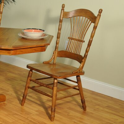 ECI Furniture Burnished Sheaf Side Chair