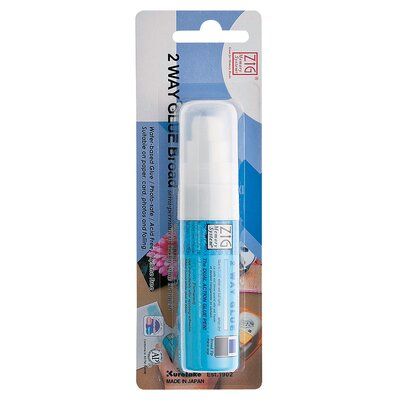 Zig Two Way Broad Glue Pen