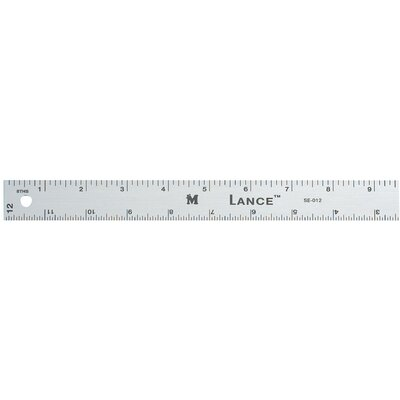Lance Graduated Aluminum Ruler