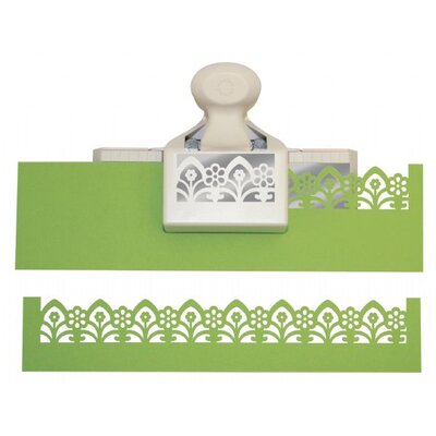Martha Stewart Crafts Deep Edger Garden Gate Trim Punch
