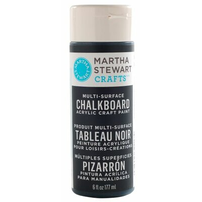 Martha Stewart Crafts Chalkboard Spray Paint