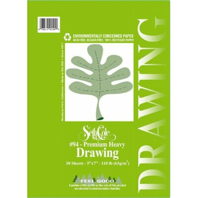 Seth Cole Premium Heavy Drawing Paper Pad