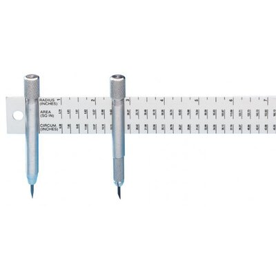 Alumicolor Beam Compass Ruler
