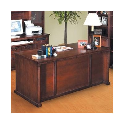 kathy ireland Home by Martin Furniture Huntington Oxford Executive 7-Drawer Desk