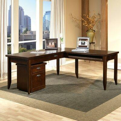 Tribeca Loft L-Shaped Writing Desk Office Suite