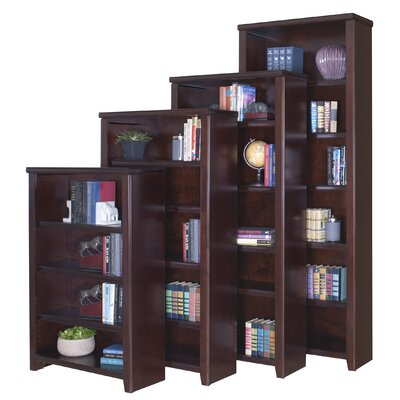 "kathy ireland Home by Martin Furniture Tribeca Loft Cherry Office Collection 60"" Bookcase in Cherry"