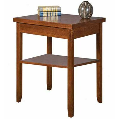 kathy ireland Home by Martin Furniture Mission Pasadena Office End Table