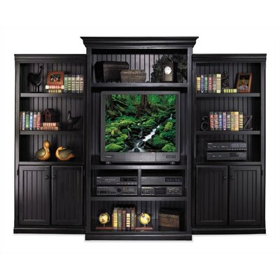 "kathy ireland Home by Martin Furniture Southampton Onyx 73"" H Lower Door Bookcase"