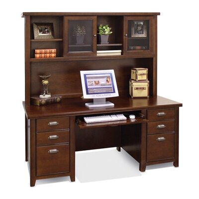 Tribeca Loft Executive Desk and Hutch