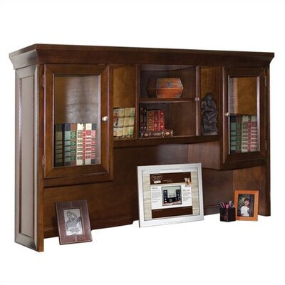 "kathy ireland Home by Martin Furniture Fulton Executive 42"" H x 69.25"" W Desk Hutch"