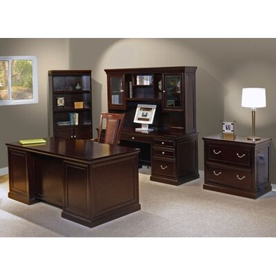 kathy ireland Home by Martin Furniture Fulton Standard Desk Office Suite