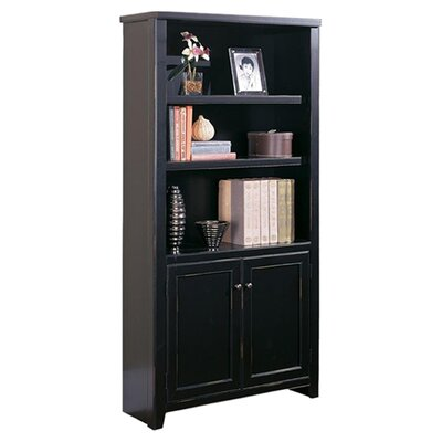 "kathy ireland Home by Martin Furniture Tribeca Loft - Lower Door 70"" Bookcase"