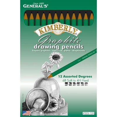 Kimberly Drawing Pencils (Set of 12)