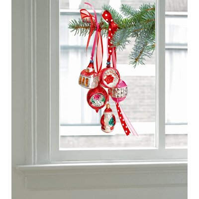 Oots Limited Christmas Edition Window Decals in Red
