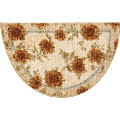Brumlow Mills Delicate Sunflower Kitchen Rug | Wayfair